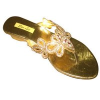 Ladies Beaded Slippers