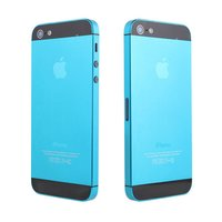 Color Electroplating Colored Metal Alloy Full Housing Back Cover For Iphone 5