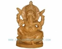 Seated Ganesha Statue