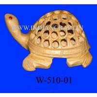 Undercut Tortoise Statue