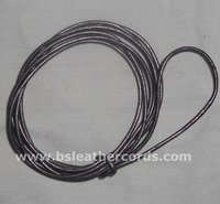 Colored Round Leather Cords