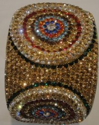 Bangle With American Diamond