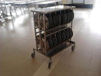 Dish / Plate Rack Trolley