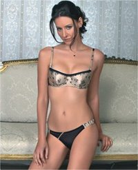 La Mode Padded Balconette Bra 54