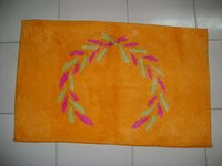 Orange Cotton Mats
