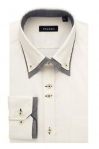 Double Cuff White Shirt