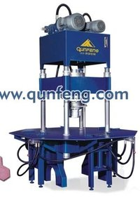 Paving Stone And Curb Forming Machine