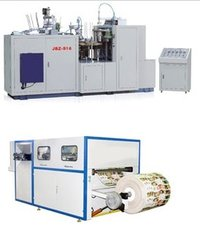 Paper Cup And Plate Making Machines
