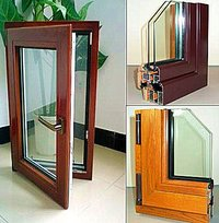 Aluminum Wood Compand Window