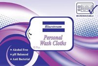 Bluestream Personal Wash Cloth