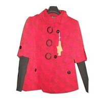 Ladies Short Woolen Coat