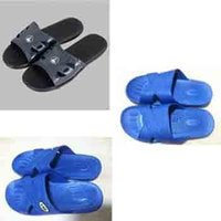 ESD Slippers Black And Blue