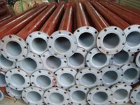 PVC Lined Pipes For Waste Water Treatment