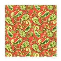 Hand Blocked Discharge Print Fabric