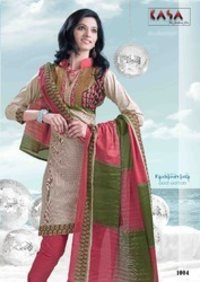 Kasa Cotton Fashion Ladies Suit