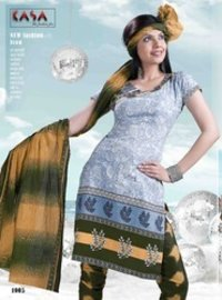 Kasa Printed Cotton Ladies Suit