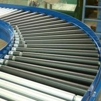 90-Degree Bend Roller Conveyors