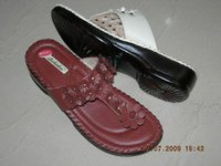Ladies Casual Peded Slippers
