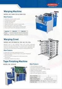 Tape Finishing Machinery