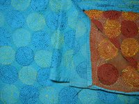 Indian Vintage Silk Handmade Kantha Scarves