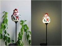 Christmas Design LED Solar Stake Light