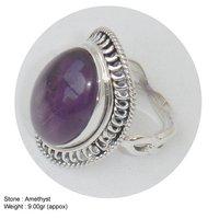 Amethyst Stone Designer Ring