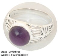 Amethyst Fancy Designer Ring