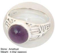 Amethyst Fancy Designer Ring