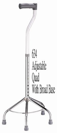634 Adjustable Quad With Broad Base