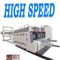 Automatic Flexo Printing Slotting Die Cutting Machine For Carton Box