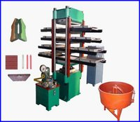 Rubber Tile Vulcanizing Machine