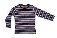 Knitted Boys Stripes T Shirts