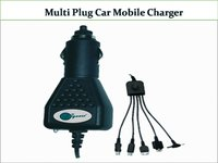 Multi Plug Car Mobile Charger