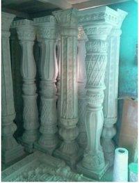 Designer Fiberglass Pillars Fabrication Services