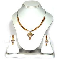 Ladies Silver Necklace Set