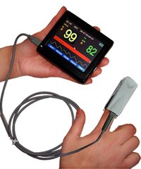 Hand-Held Patient Monitor Color TFT Screen & SPO2 + PR