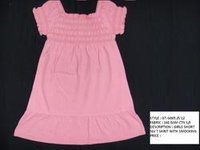Girls Smocked Dress
