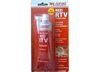 M Seal High Temperature Red RTV