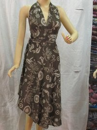 Designer Cotton Long Dress
