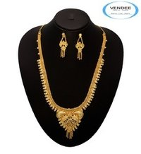 Gold Necklace Jewelry