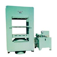 Hydraulic Single Daylight Moulding Machine