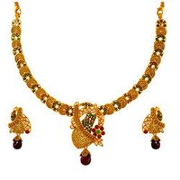 Antique Pendant Necklace Set