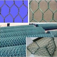 Coated Hexagonal Wire Mesh