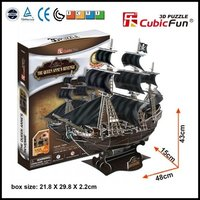 3D Puzzle Game Ship Model