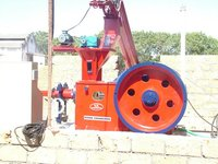 Saw Dust Biomass Briquette Press