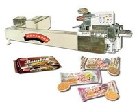 Cream Biscuit Wrapping Machine