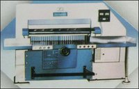 Fully Auto Paper Gullotine Machine
