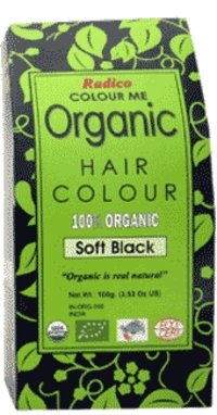 Pure Organic Hair Color Dye