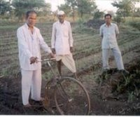 Bicycle Plougher