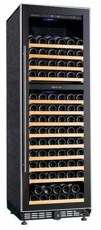 Bottles Best Dual Wine Cooler With S/S Handle (320l/120)